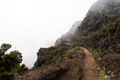 Way to the Edge of the Mountain with Fog - PhotoDune Item for Sale