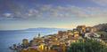 Porto Santo Stefano village, church and castle. Argentario, Tuscany, Italy - PhotoDune Item for Sale