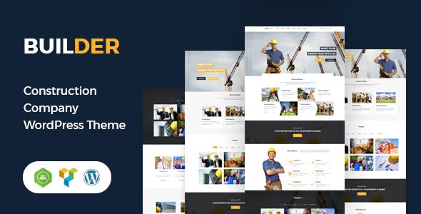 Builder - Construction WordPress Theme