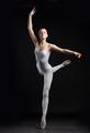 ballerina dancing isolated on black background - PhotoDune Item for Sale