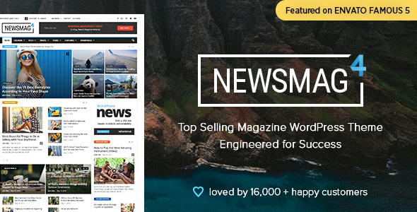 newsmag theme wordpress