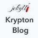 Krypton Blog - Jekyll - Personal Blog Theme - ThemeForest Item for Sale