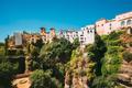 Ronda, Spain. Palacio Del Rey Moro And Hanging Gardens In Ronda, Spain. 14th Century Moorish Palace - PhotoDune Item for Sale