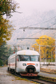 Borjomi, Samtskhe-Javakheti, Georgia. Suburban Electric Train Near Borjomi Railway Station In Autumn - PhotoDune Item for Sale