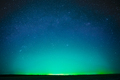 Beautiful Night Sky Glowing Stars Background Backdrop With Colorful Sky Gradient. Colourful Night - PhotoDune Item for Sale