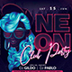 Neon Club Party - GraphicRiver Item for Sale