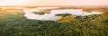 Braslaw District, Vitebsk Voblast, Belarus. Aerial View Of Lakes, Green Forest Landscape. Top View - PhotoDune Item for Sale