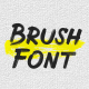 Brush Animated Font - VideoHive Item for Sale