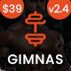 Gimnas - Gym Fitness WordPress Theme - ThemeForest Item for Sale