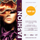 Fashion Show Party Flyer 2 - GraphicRiver Item for Sale