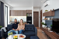 Couple in studio apartment - PhotoDune Item for Sale