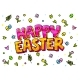 Happy Easter Lettering - GraphicRiver Item for Sale