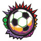 Soccer Ball Colorful Mosaic Vector Design - GraphicRiver Item for Sale