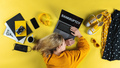 Top view of frustrated business woman at desk , coronavirus and bankruptcy desktop concept - PhotoDune Item for Sale