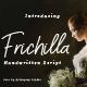 Frichilla Handwritten Script Font - GraphicRiver Item for Sale