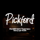 Pickford Hand-Drawn Typeface - GraphicRiver Item for Sale