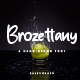 Brozettany Hand-drawn Font - GraphicRiver Item for Sale