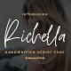 Richella Handwritten Script Font - GraphicRiver Item for Sale