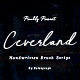Ceverland Handwritten Brush Font - GraphicRiver Item for Sale