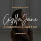 Gisella Jane Handwritten Script Font - GraphicRiver Item for Sale