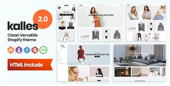 Kalles - Clean, Versatile, Responsive Shopify Theme - RTL support