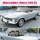 Mercedes-Benz 280 SL - 3DOcean Item for Sale