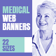 Medical Web Banners - GraphicRiver Item for Sale