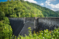 Beautiful view of the old water dam in Zagorze Slaskie, Poland - PhotoDune Item for Sale