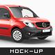Mercedes Citan Delivery Car Mockup - GraphicRiver Item for Sale