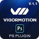 Vigormotion Photoshop Plugin for Animation - GraphicRiver Item for Sale