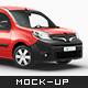 Renault Kangoo Delivery Car Mockup - GraphicRiver Item for Sale
