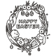 Easter Coloring Page With Cute Bunny Vector Holiday Illustration. - GraphicRiver Item for Sale