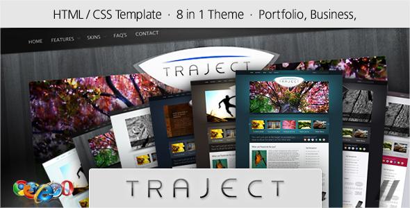 Traject – HTML Portfolio and Business Site