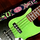 Rocking Bass Guitar Logo