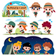 Scout kids - GraphicRiver Item for Sale