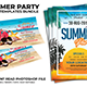 Summer Party Flyers Bundle - GraphicRiver Item for Sale