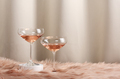 Glasses with rose wine - PhotoDune Item for Sale