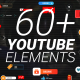 YouTube Buttons Subscribe Pack MOGRT - VideoHive Item for Sale
