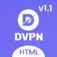 DVPN   Multipurpose VPN and Cloud Service HTML Template - ThemeForest Item for Sale
