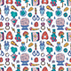 Witchcraft Seamless Pattern. - GraphicRiver Item for Sale