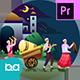 Ramadan Mubarak Animation | Premiere Pro MOGRT - VideoHive Item for Sale