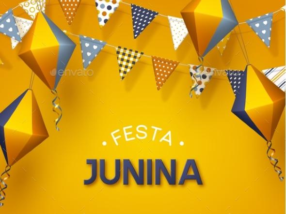 Festa Junina Holiday Banner