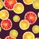 Seamless Pattern with Lemon Lime and Grapefruit - GraphicRiver Item for Sale