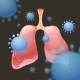 Human Lungs are Attacked By Viruses - GraphicRiver Item for Sale
