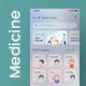 Online Medicine Ordering App UI Kit | Pharmazone - GraphicRiver Item for Sale