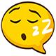 Cartoon Snoring Funny Sleep Breathe