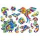 Set of Decorative Tropical Birds - GraphicRiver Item for Sale