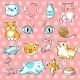 Set of Cute Kawaii Cats - GraphicRiver Item for Sale