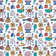 Witch Elements Seamless Pattern - GraphicRiver Item for Sale