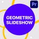 Geometric Slideshow   Premiere Pro MOGRT